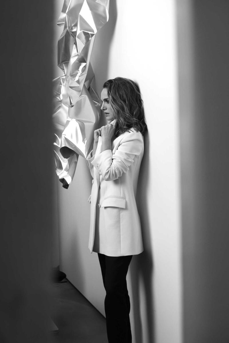 Natalie Portman behind the scenes on DiorSkin Makeup campaign