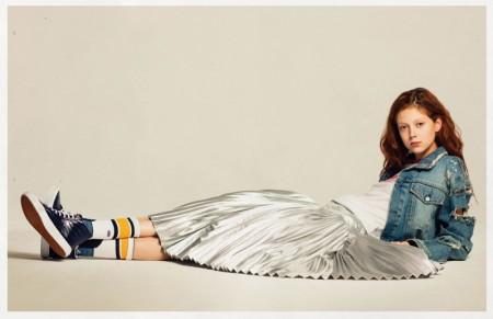 Natalie Westling Rocks Vans' Sk8-Hi Sneaker