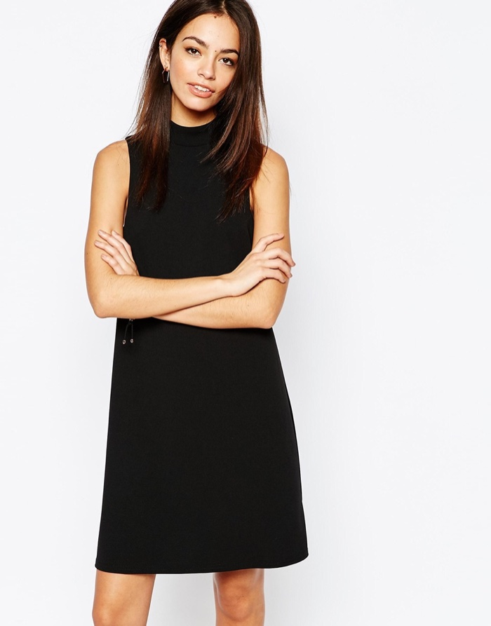 New Look Funnel Neck Tunic Dress $34.20