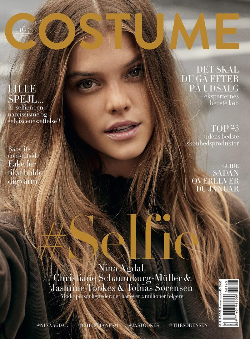 Nina Agdal Models Street Style for Costume Cover Story