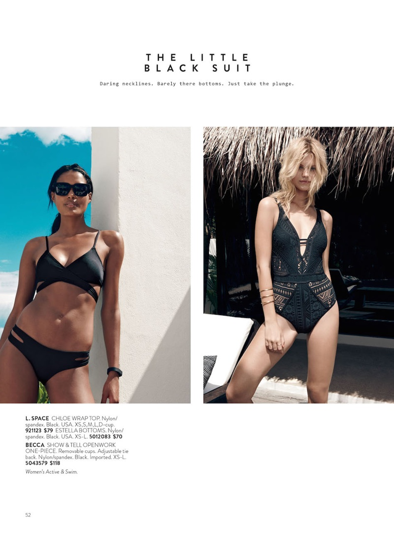 a76ee5652 Here Comes the Sun: Nordstrom Spotlights Resort '16 Swim | Fashion ...