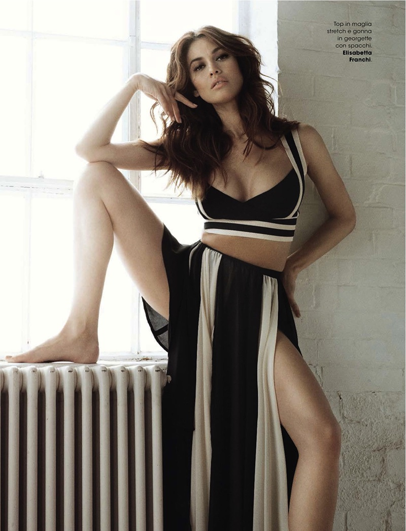olga kurylenko smolders in new season looks for glamour italy. Black Bedroom Furniture Sets. Home Design Ideas