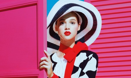 Anais Pouliot stars in Paule Ka's spring-summer 2016 campaign