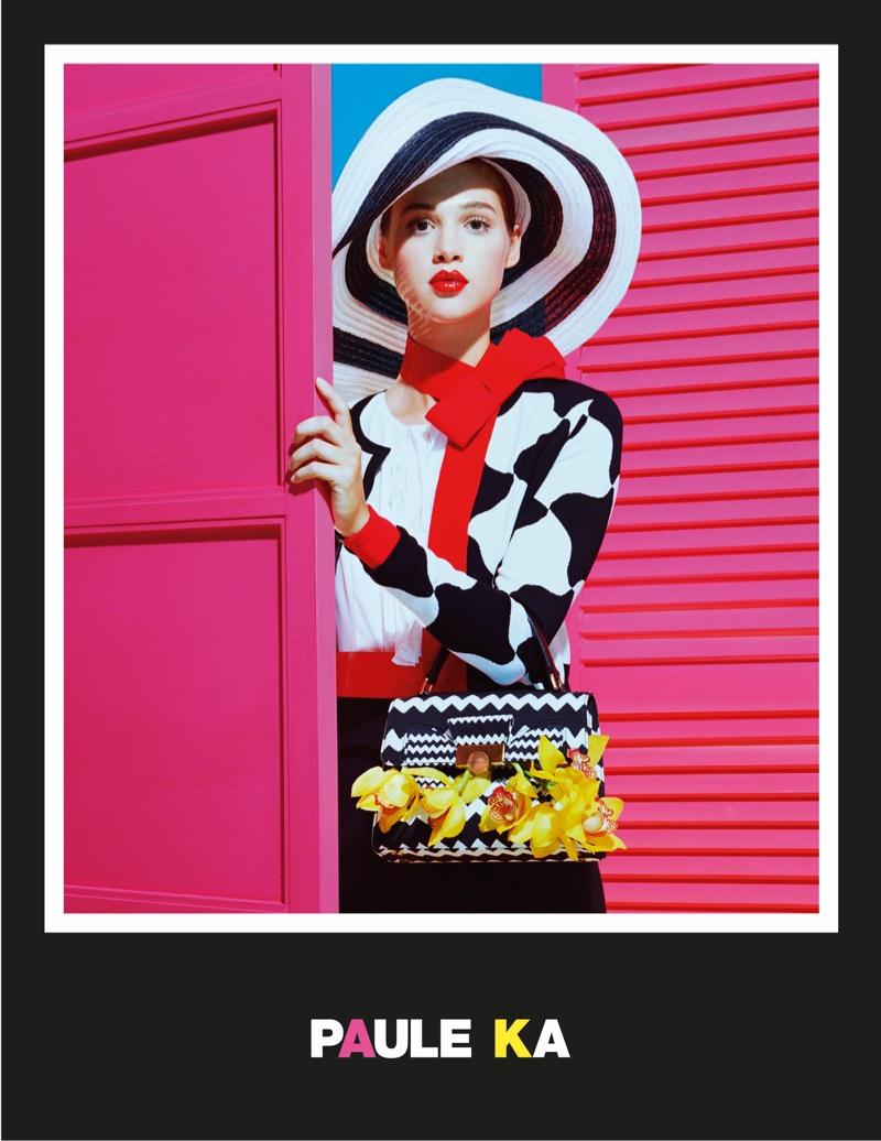 Paule Ka Channels Pop Art for its Spring 2016 Ads