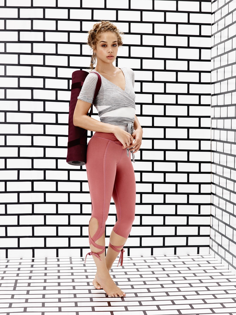 Free People Giselle Wrap Top and Free People Turnout Legging