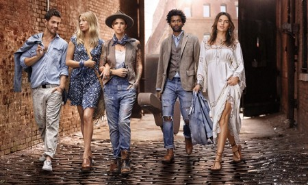An image from Ralph Lauren Denim & Supply's spring-summer 2016 advertising campaign