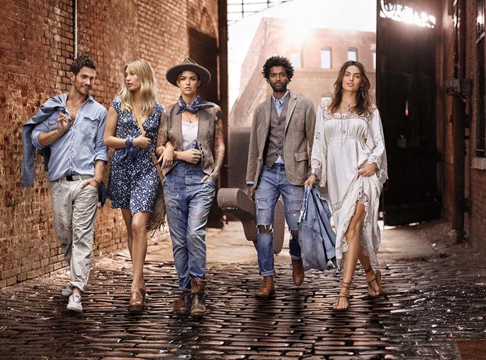 Hailey Baldwin & Ruby Rose Star in Ralph Lauren Denim & Supply Spring Ads