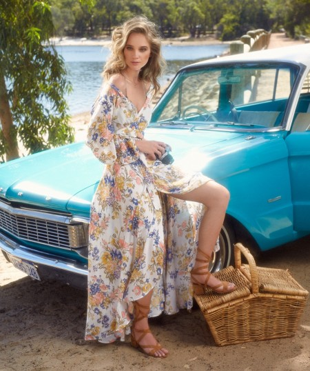 Rosie Tupper Models Holiday Style in The Sunday Times