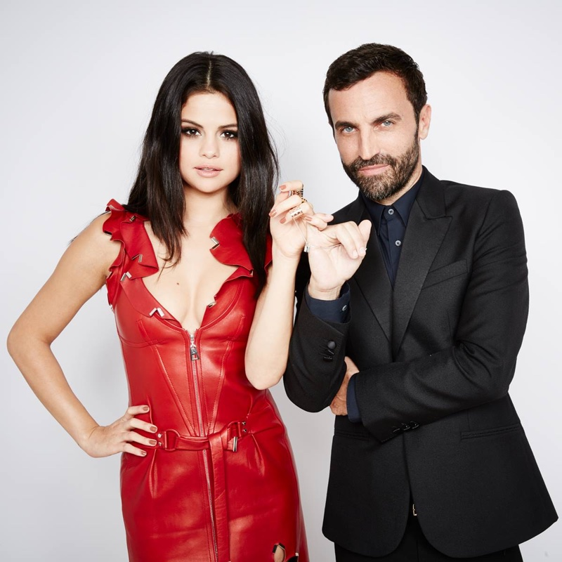 Selena Gomez and Nicolas Ghesquiere for UNICEF Louis Vuitton #Makeapromise campaign