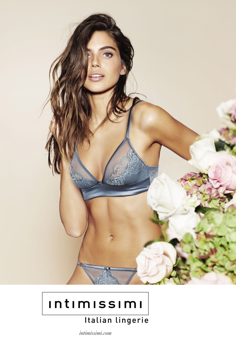 Shlomit Malka Is Back In Lingerie For Intimissimi`s Spring 2016 Ads