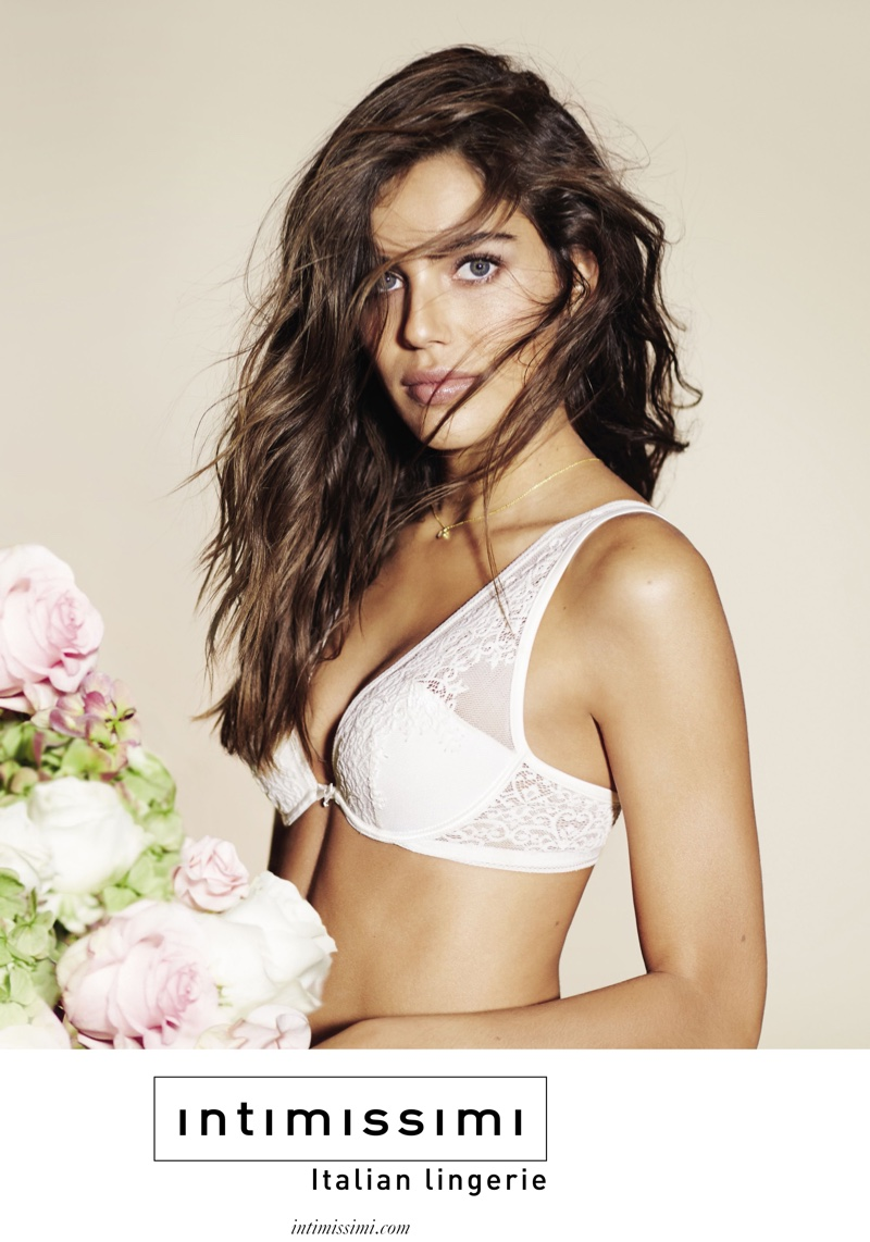 Shlomit Malka stars in Intimissimi's spring-summer 2016 campaign