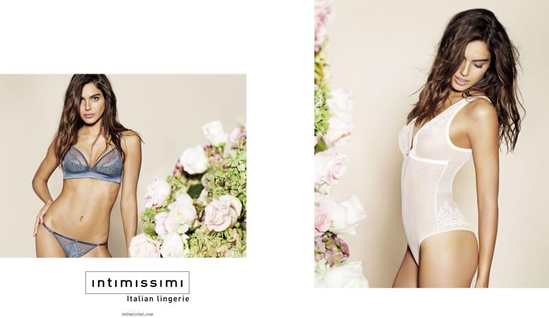 Shlomit Malka stars in Intimissimi's spring 2016 campaign