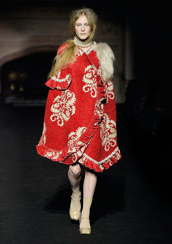 A look from Simone Rocha's winter 2015 collection