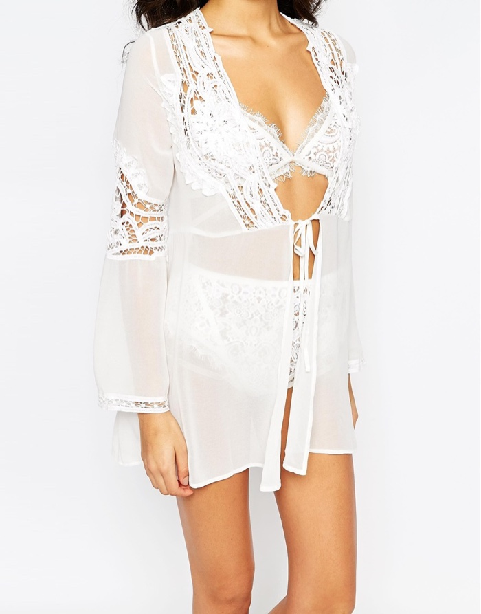 Skivvies by For Love and Lemons Anabella Robe