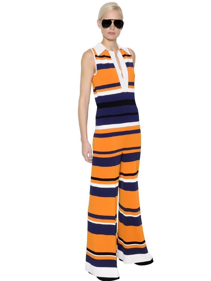Sportmax Striped Knit Jumpsuit