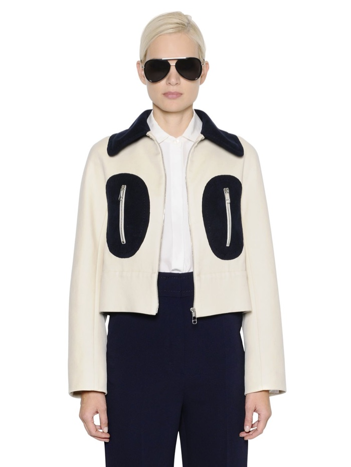 Sportmax Two Tone Drill Jacket