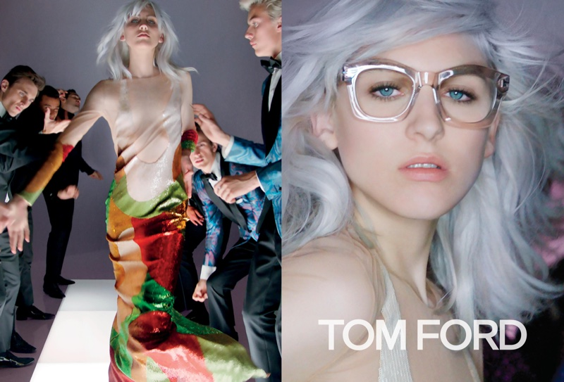Tom Ford Gets the Party Started with Spring 2016 Campaign