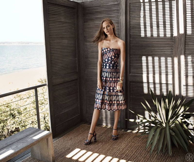 Tory Burch's Resort Line Has The Ultimate Vacation Looks