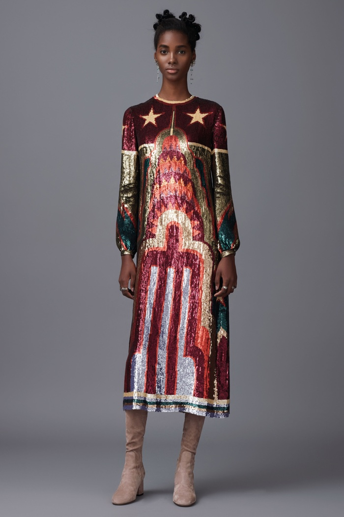 A look from Valentino's pre-fall 2016 collection