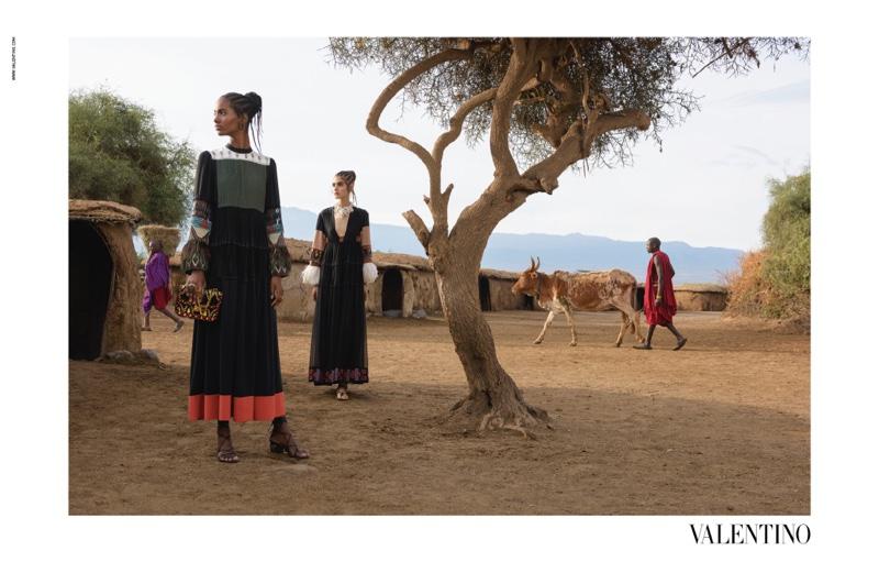 Valentino Captures Spring 2016 Campaign In Kenya