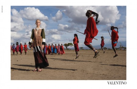 Valentino Captures Spring 2016 Campaign in Kenya