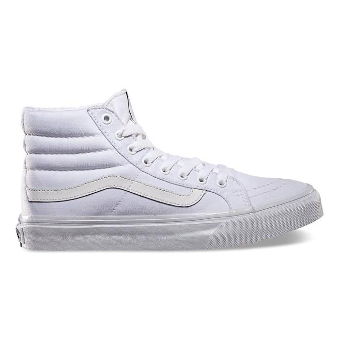 Vans Sk8-Hi Slim in True White