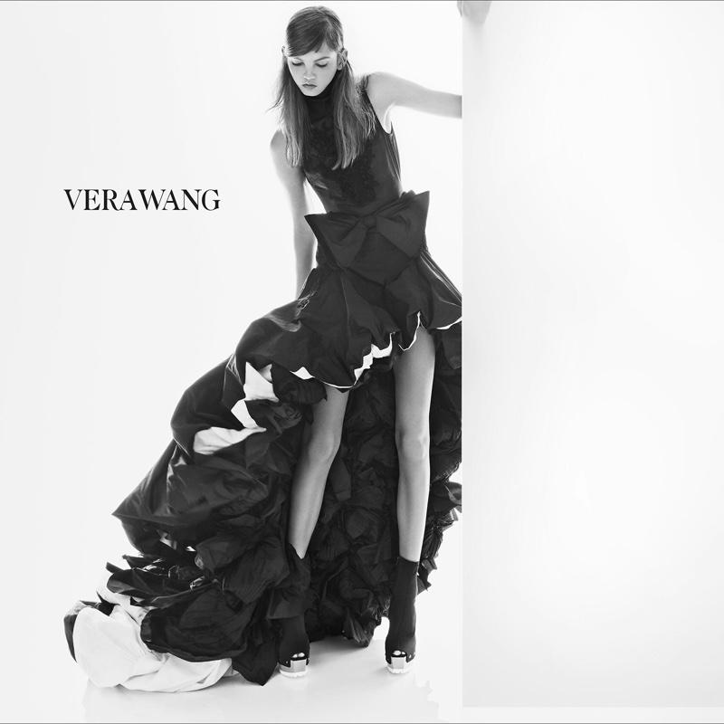 Vera Wang Black Wedding Dress Collection 68 Trend Molly Blair stars in