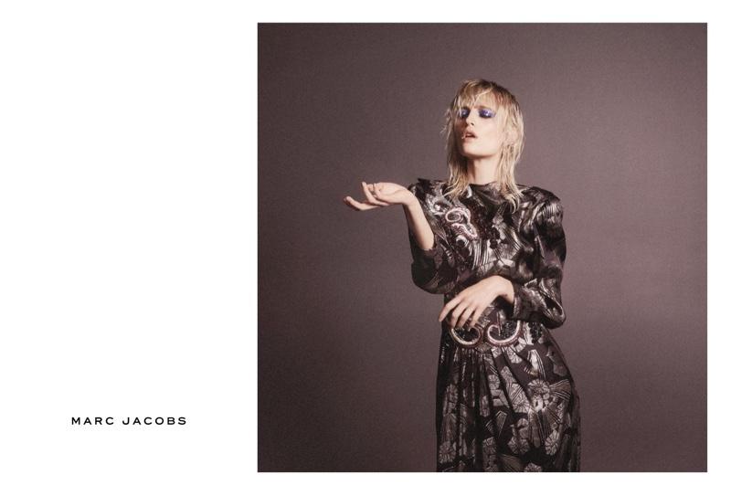 Veronika Vilim stars in Marc Jacobs' spring 2016 campaign