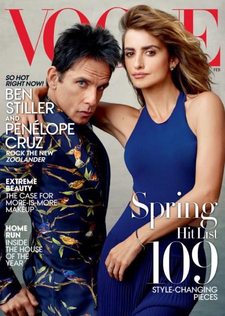 Penelope Cruz & Derek Zoolander Are 'Ridiculously Good Looking' on Vogue