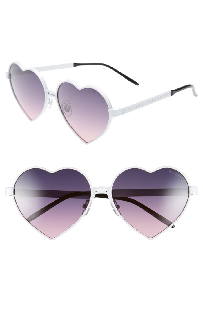 Wildfox Lolita Heart Shaped Sunglasses