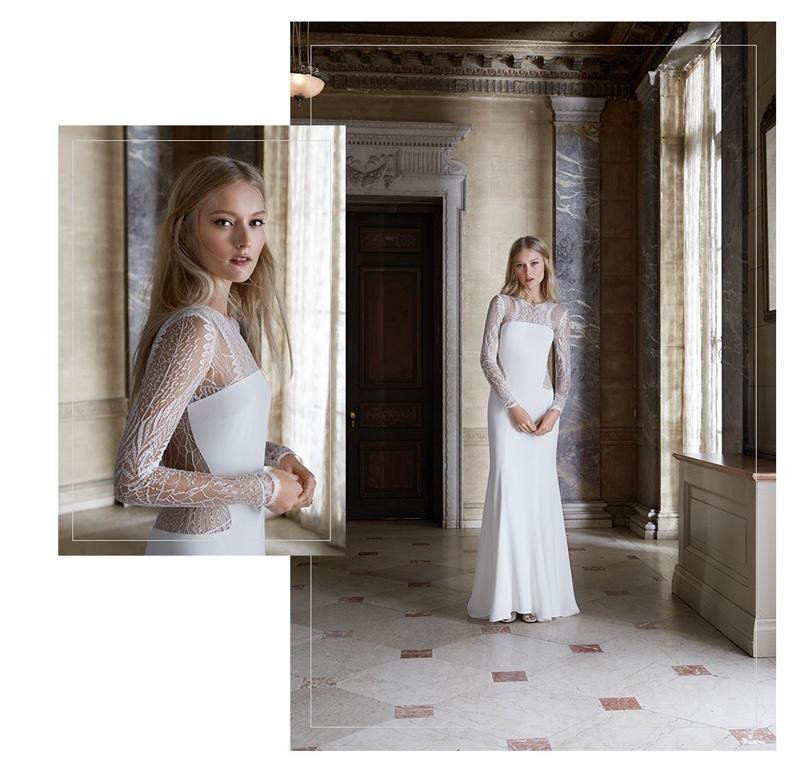 Slip For Under Wedding Dress 33 Stunning Monique Lhuillier Halle Long