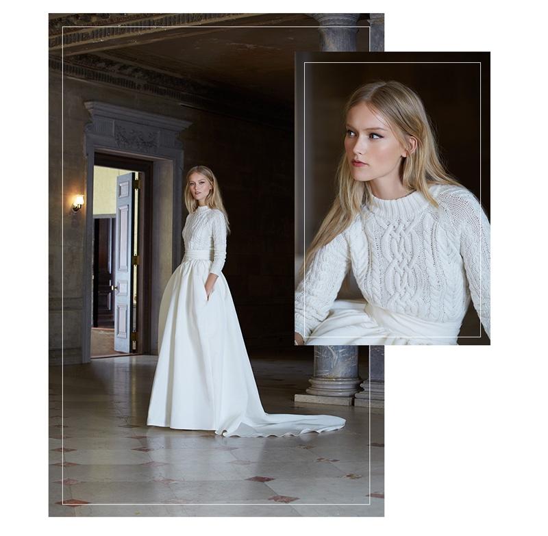 Winter Wedding Gowns With Sleeves 72 Inspirational Banjo u Matilda Aran