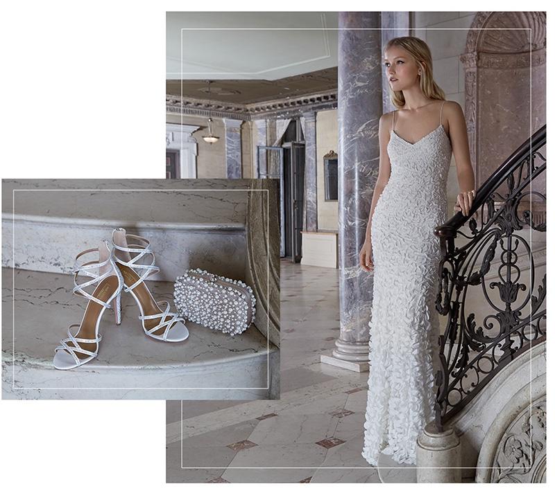 Wedding Dresses Box 40 Marvelous Aquazurra Duchess Satin Sandals