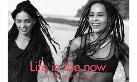 Zoe Kravitz and Lisa Bonet star in Calvin Klein Watches & Jewelry 2016 campaign