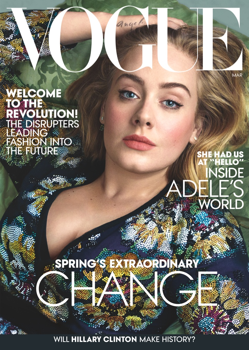 Adele Wears The Most Gorgeous Gowns in Her Second Vogue Cover Story