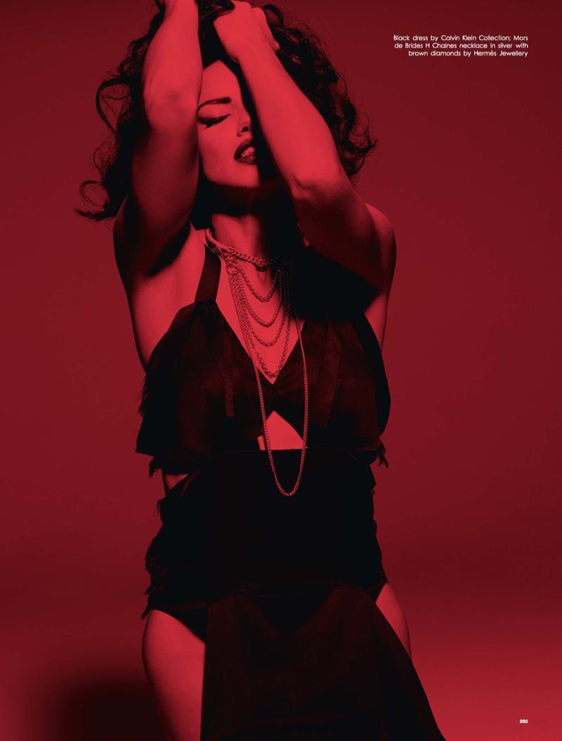 Adriana Lima is Smokin' Hot in LOVE Magazine Editorial