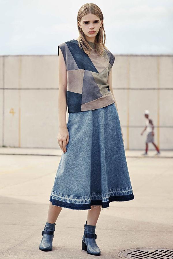 AllSaints Sina Long Skirt