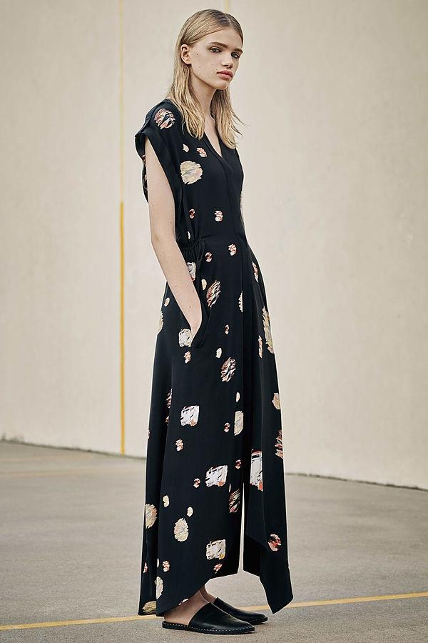 AllSaints Tate Brocade Dress