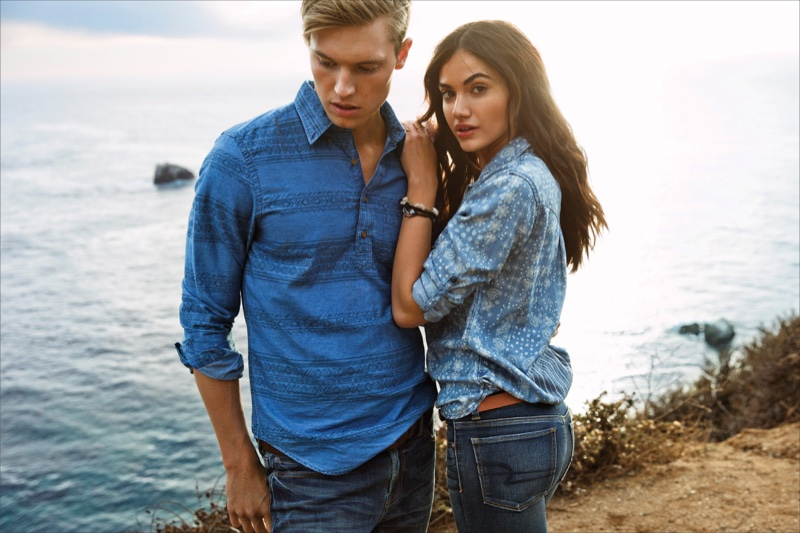 ec2b55833ad4 ... Outfitters American Eagle spotlights his and her denim styles for spring  2016