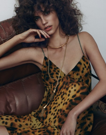 Antonina Petkovic Models Spring Looks for Vogue Mexico by Hunter & Gatti