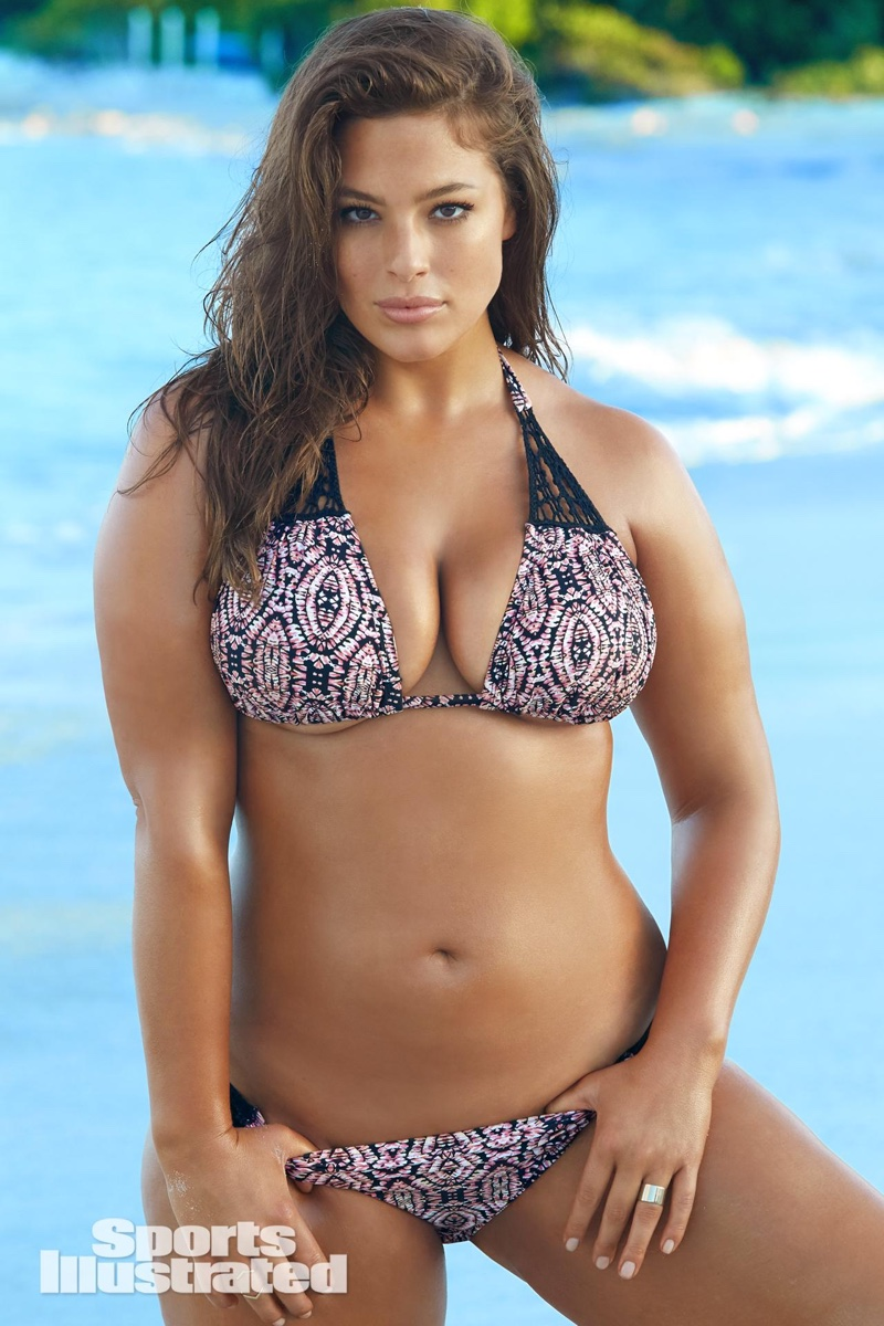 aff2a284eb381 Photo  Frederic Pinet Ashley Graham for Sports Illustrated Swimsuit 2016  Issue. Photo  James Macari