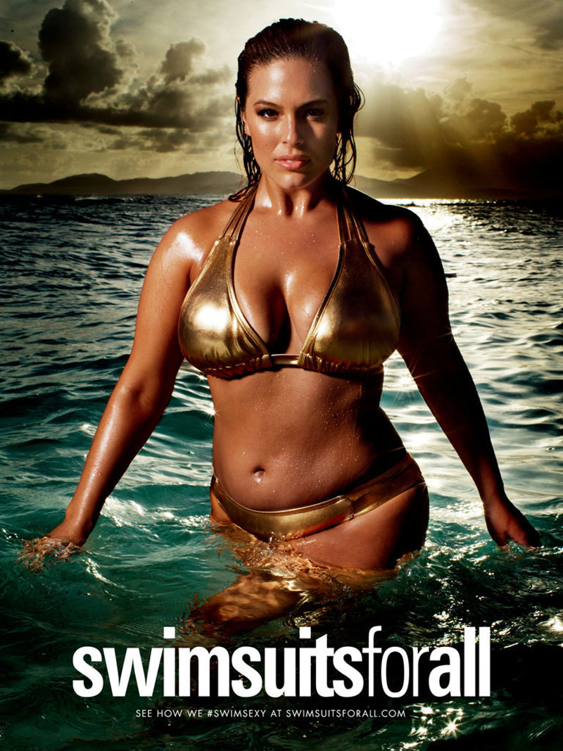 Curvy Model Ashley Graham Will Star in SI Swimsuit's 2016 Issue