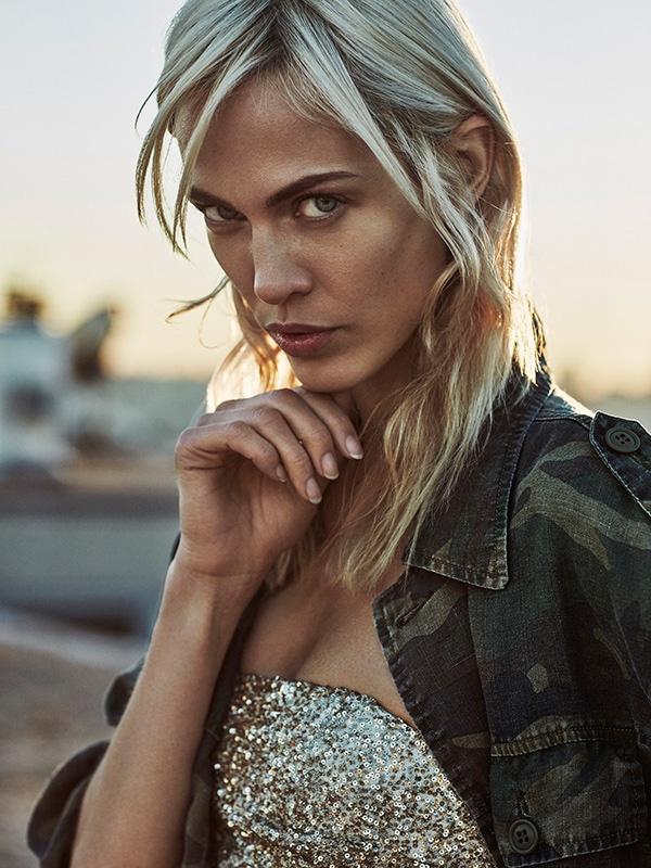 Aymeline Valade stars in Telva Magazine's February issue