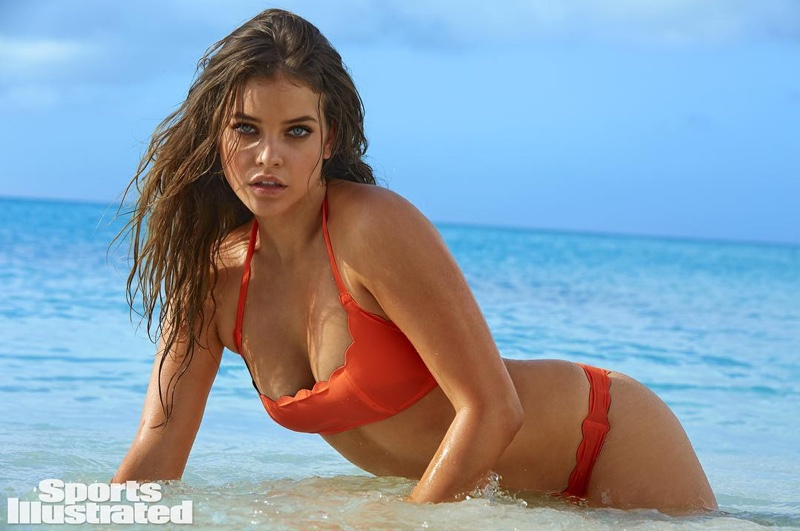 Barbara Palvin is one of Sports Illustrated Swimsuit Issue 2016's five Rookies.