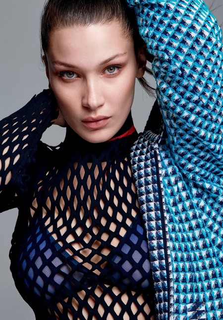 Bella Hadid Gets Sporty Chic in ELLE Brazil Cover Story