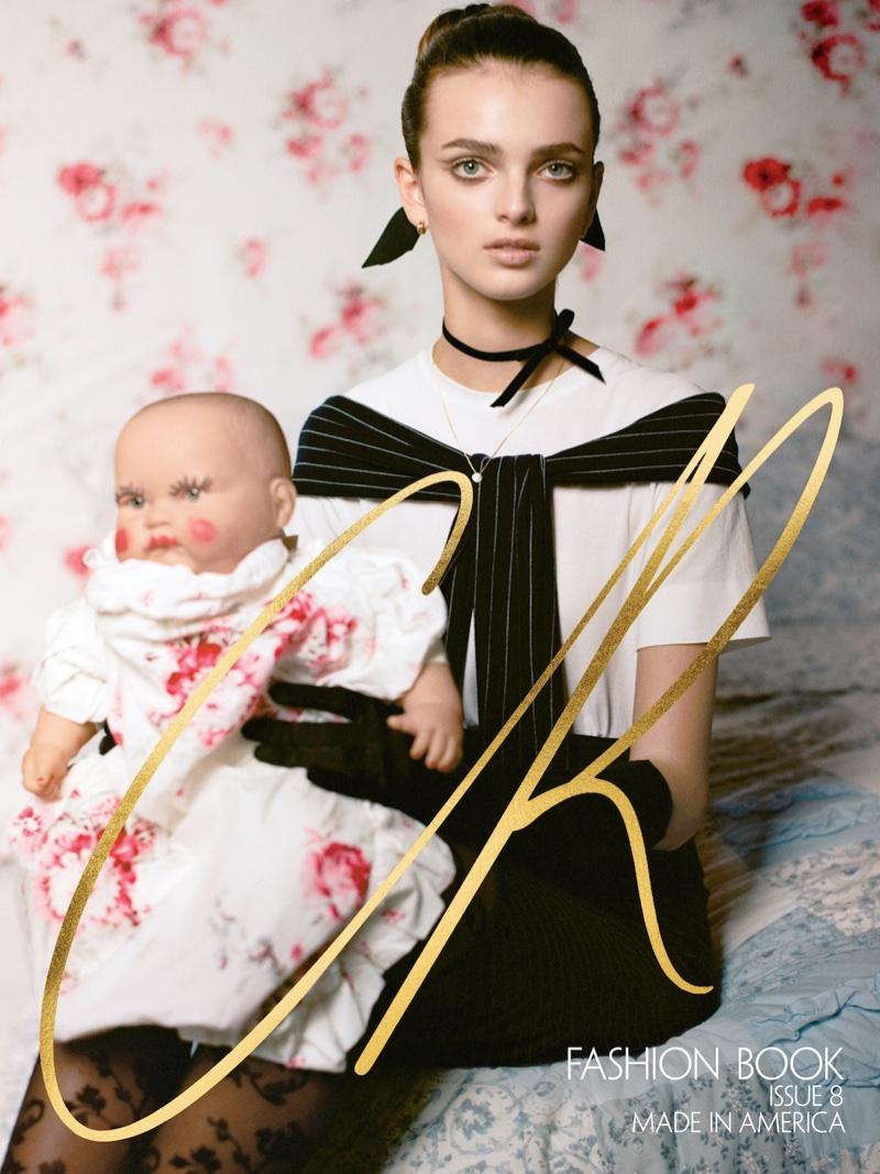Bentley Mescall on CR Fashion Book #8 Cover. Photo:  Felix Cooper