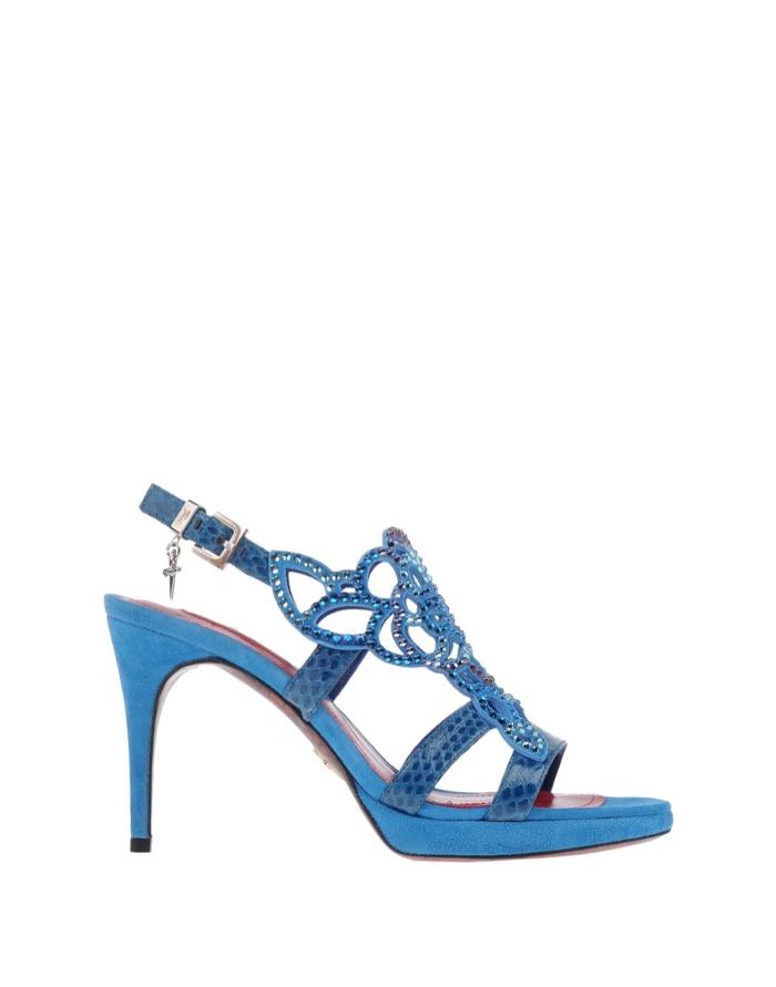 Cesare Paciotti Blue Sandals