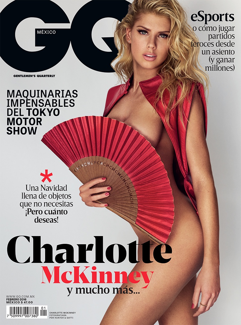 Charlotte McKinney on GQ Mexico February 2016 cover