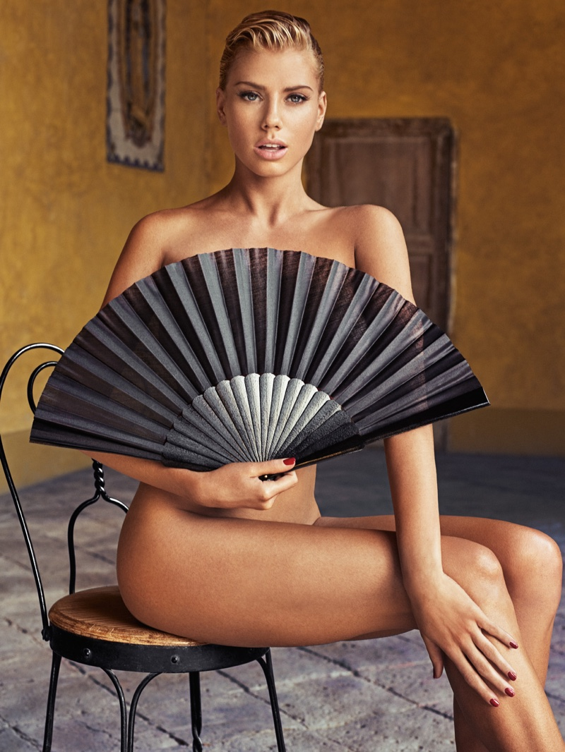 Charlotte McKinney poses for Hunter & Gatti in GQ Mexico's February issue