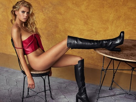Charlotte McKinney is Red-Hot in GQ Mexico by Hunter & Gatti